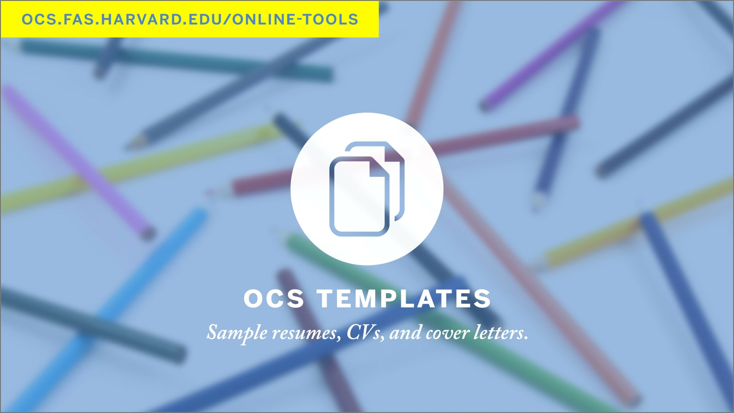 Cv Templates And Cover Letters