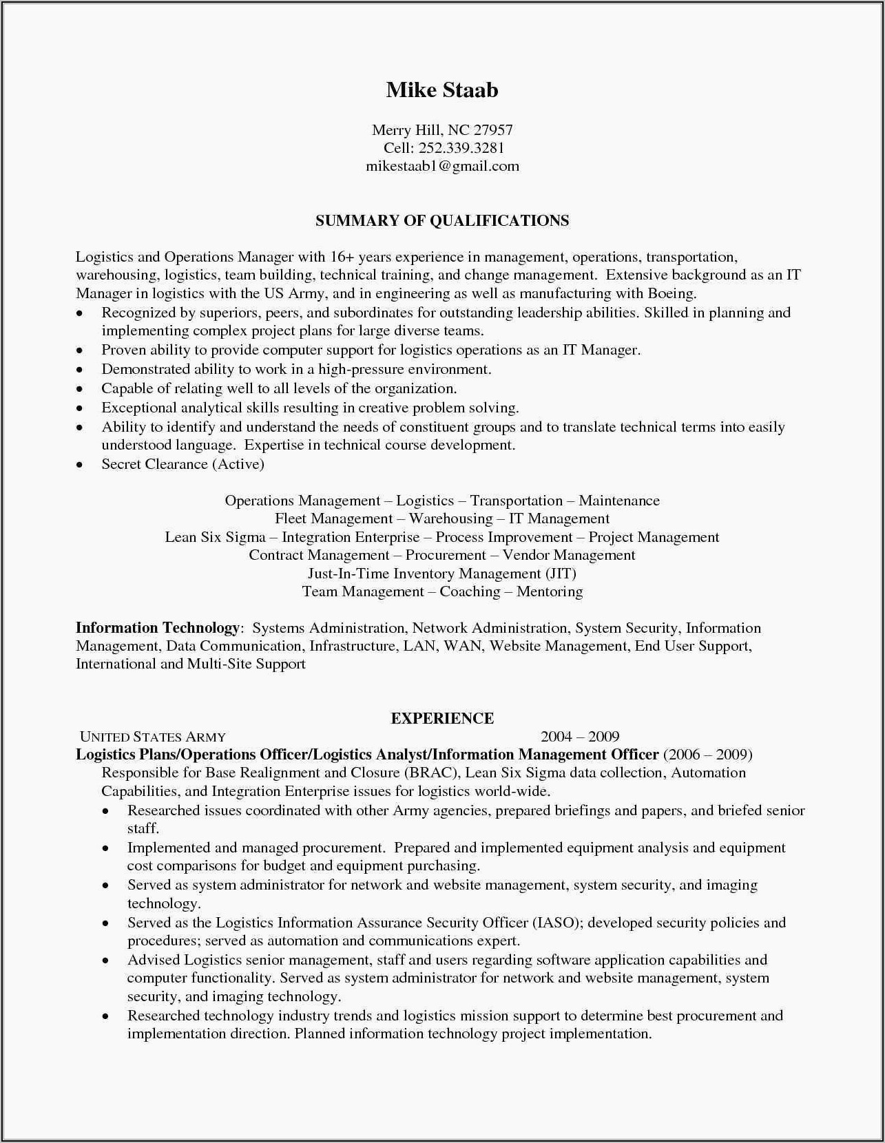 Data Warehouse Project Manager Resume Sample