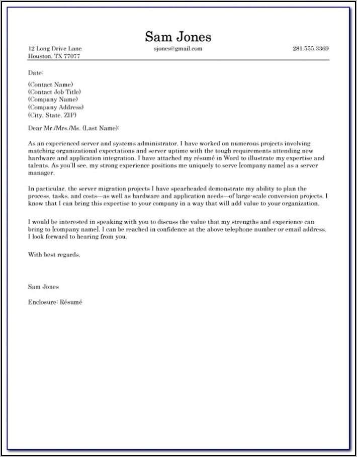 Examples Of Bad Resumes And Cover Letters