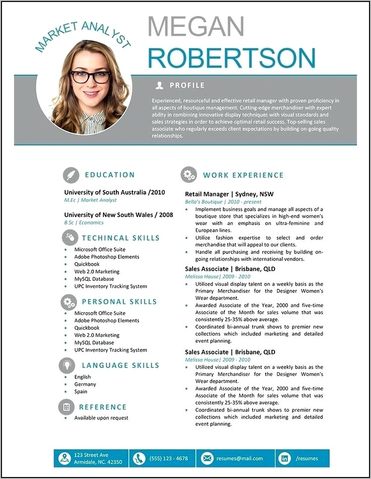 Free Templates For Resumes On Microsoft Word
