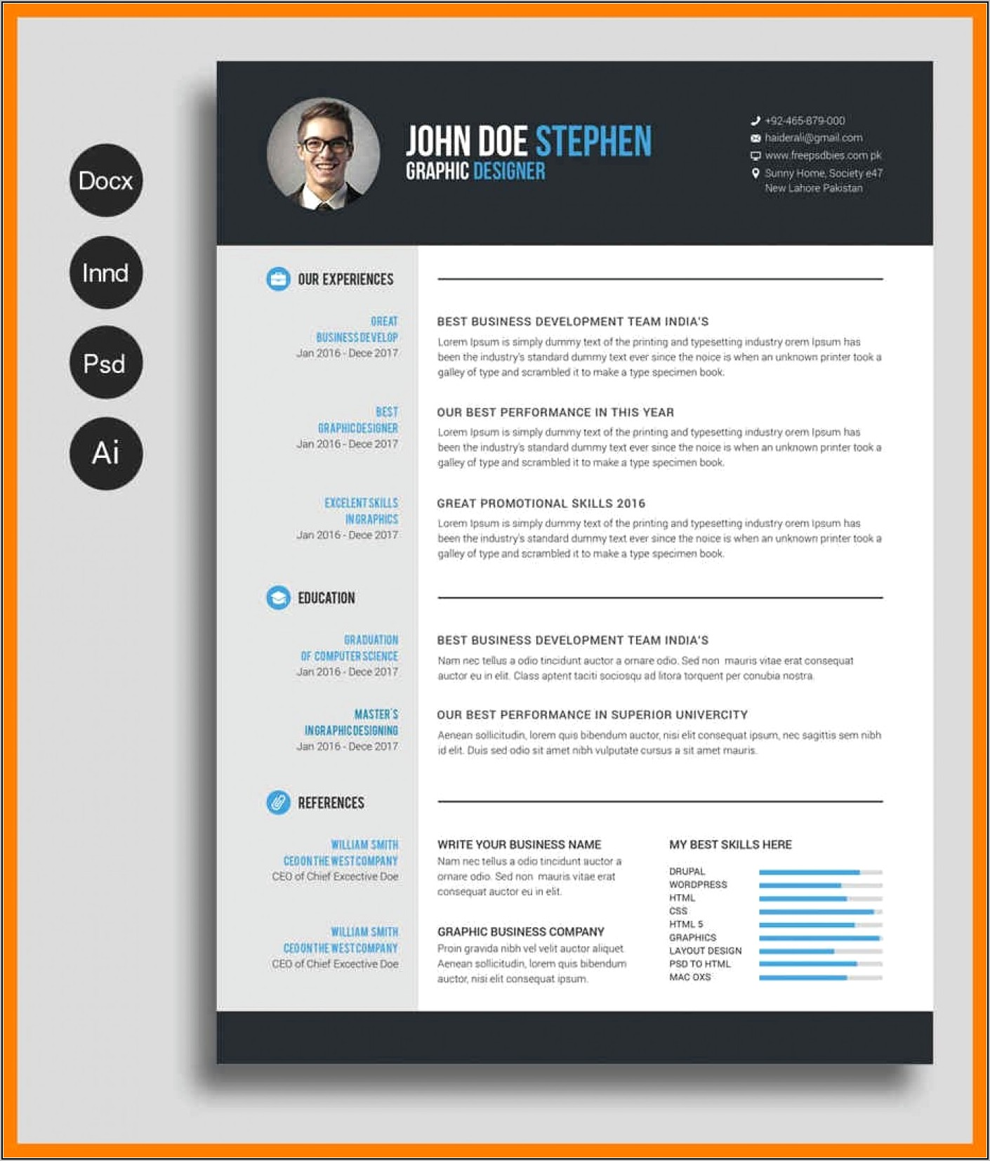 Microsoft Word Templates For Resumes And Letters