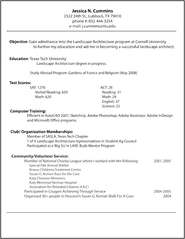 Online Resume Templates For Mac