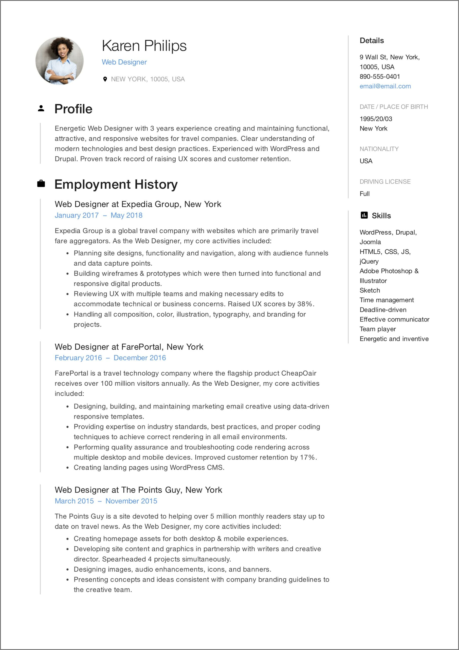 Professional Resume Writing Services Long Island