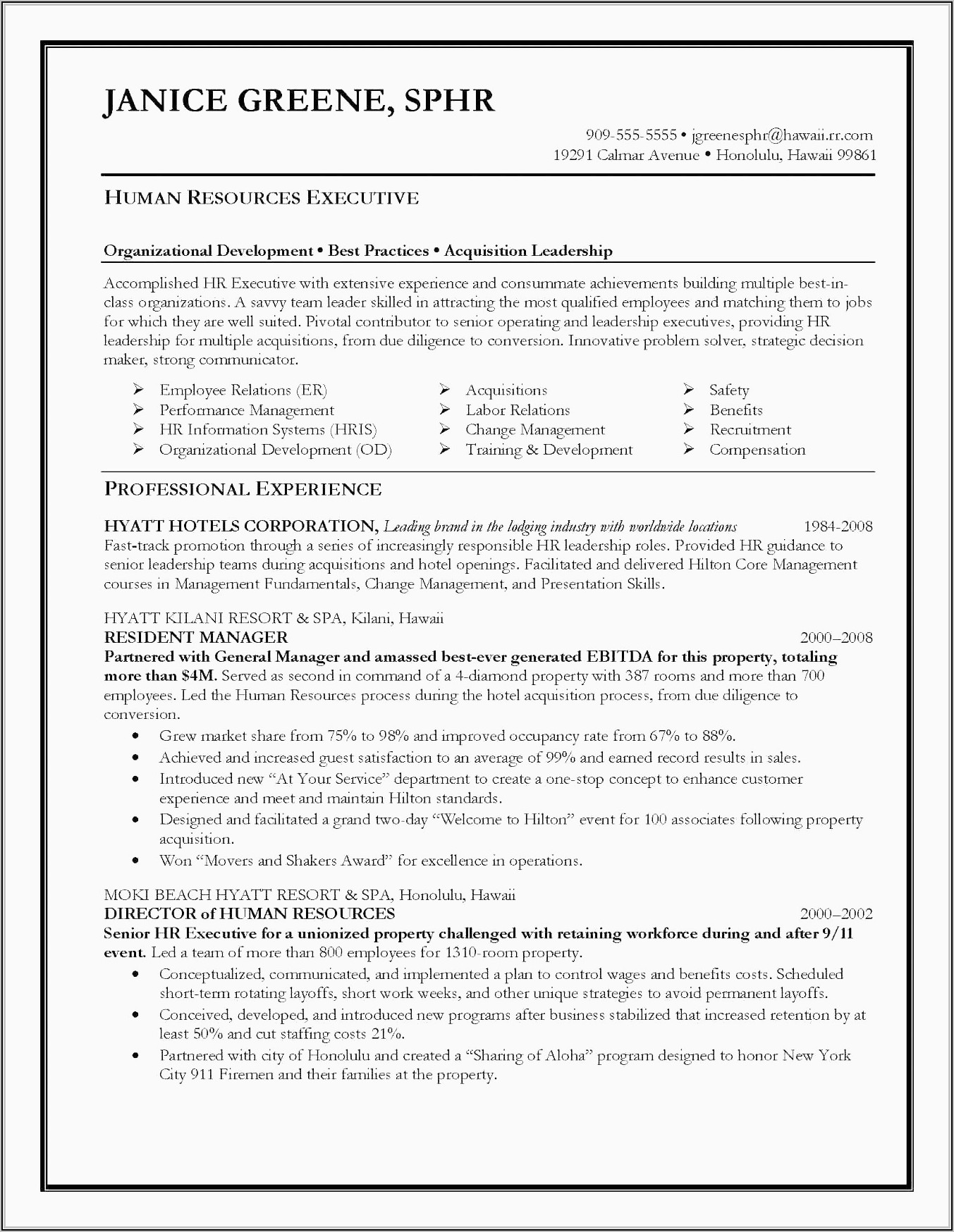 Resume For Sales Executive Doc