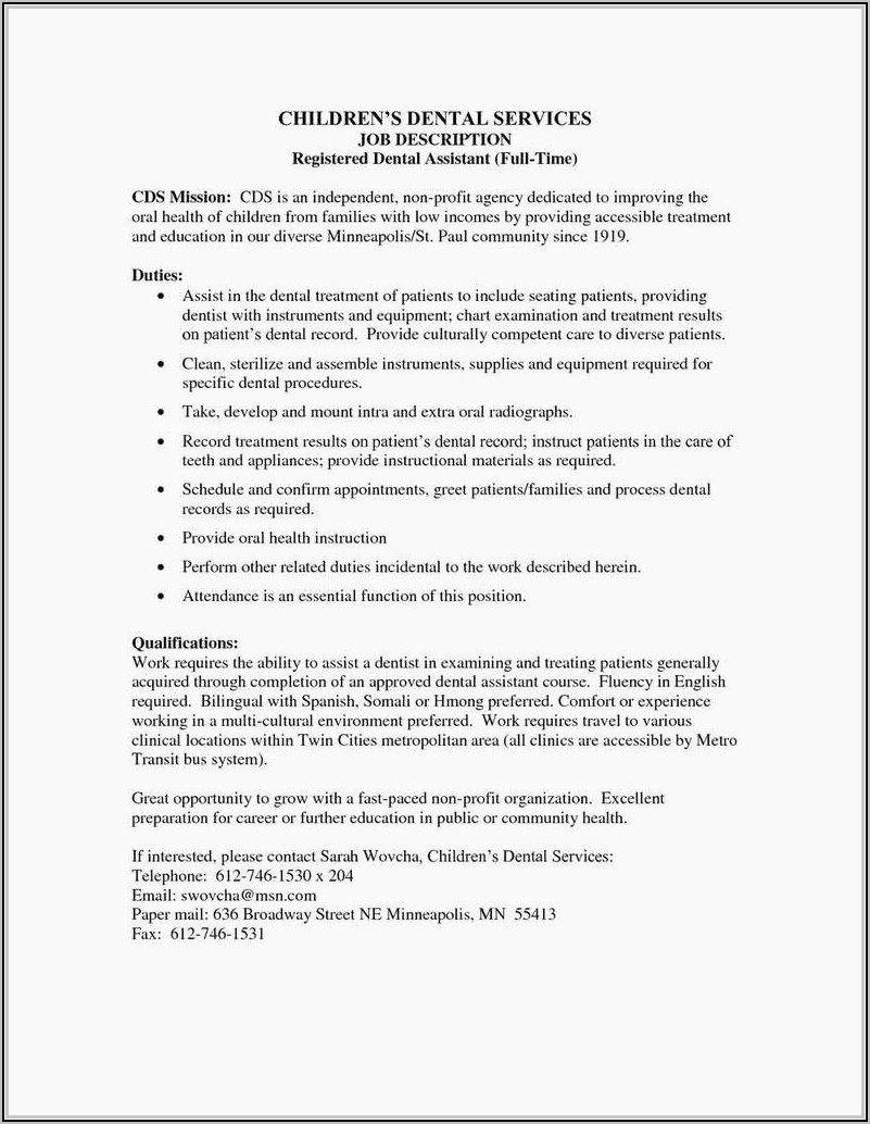 Resume Templates For Human Resources Executive