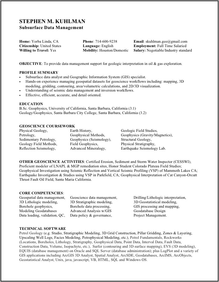 surgical tech sample resume