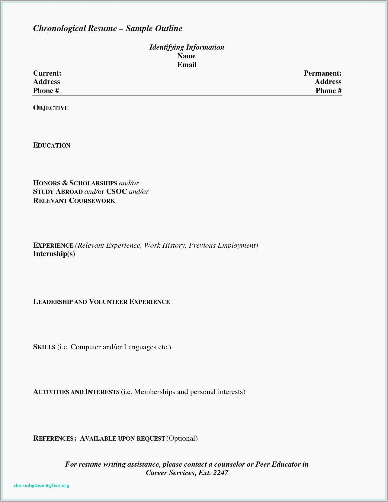 Warehouse Resume Template Free
