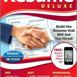 Winway Resume Deluxe 12 Free Download