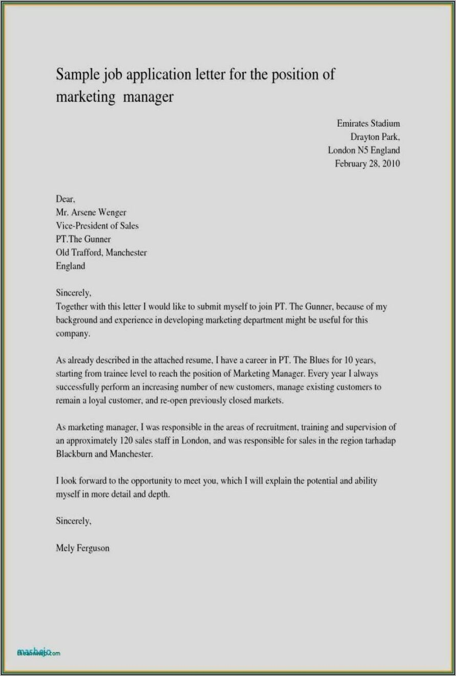 Writing A Teacher Resume And Cover Letter