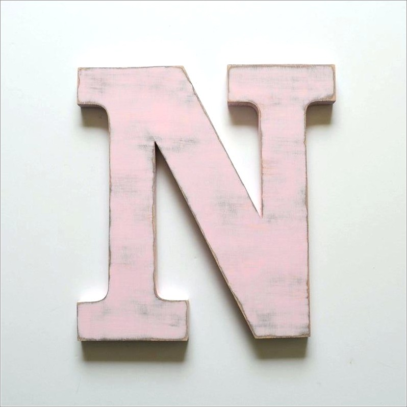 12 Inch Wooden Letters Hobby Lobby