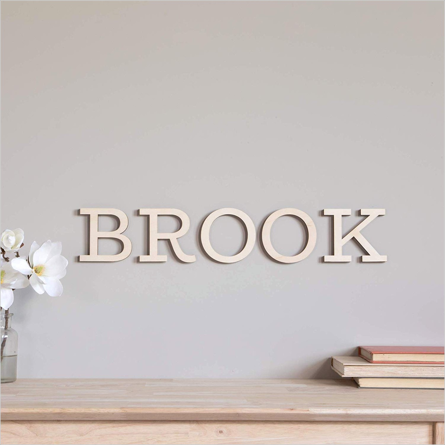 12 Inch Wooden Wall Letters