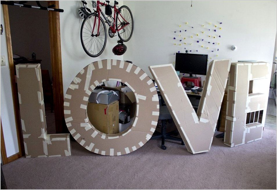 16 Inch Paper Mache Letters