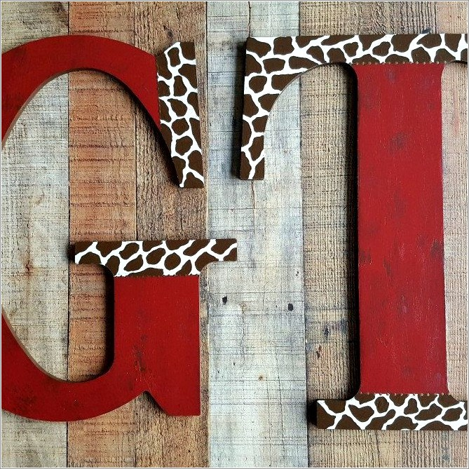 18 Inch Wall Letters