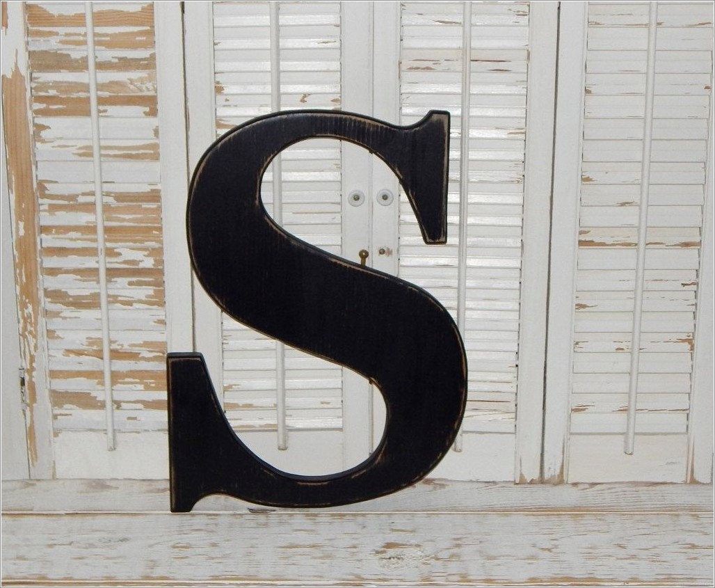 18 Inch Wooden Letters