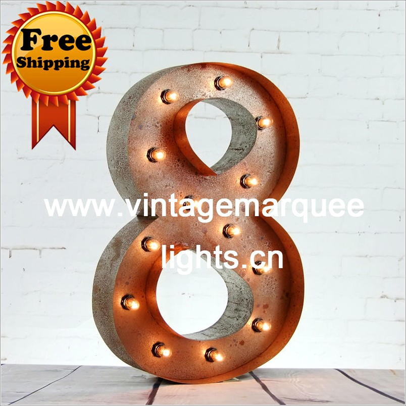 24 Inch Channel Letters