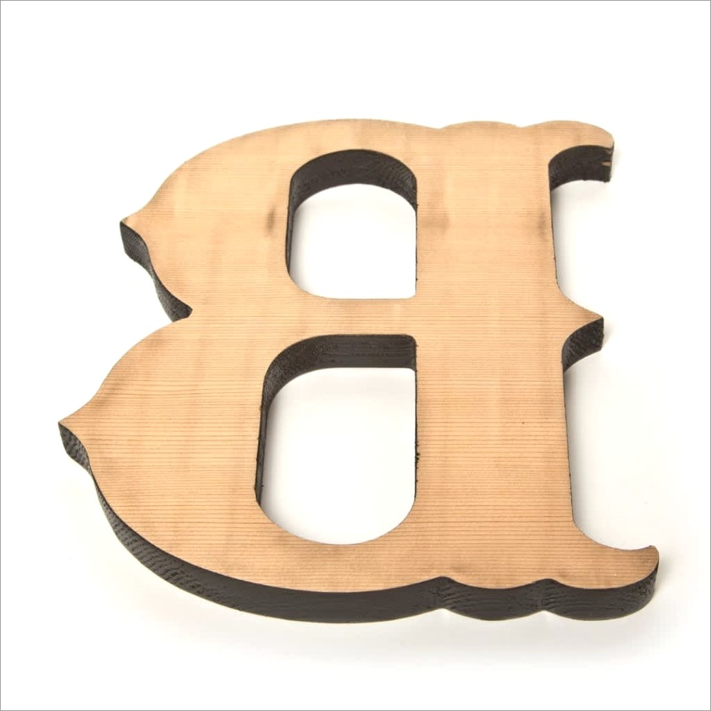 25 Inch Wooden Letters