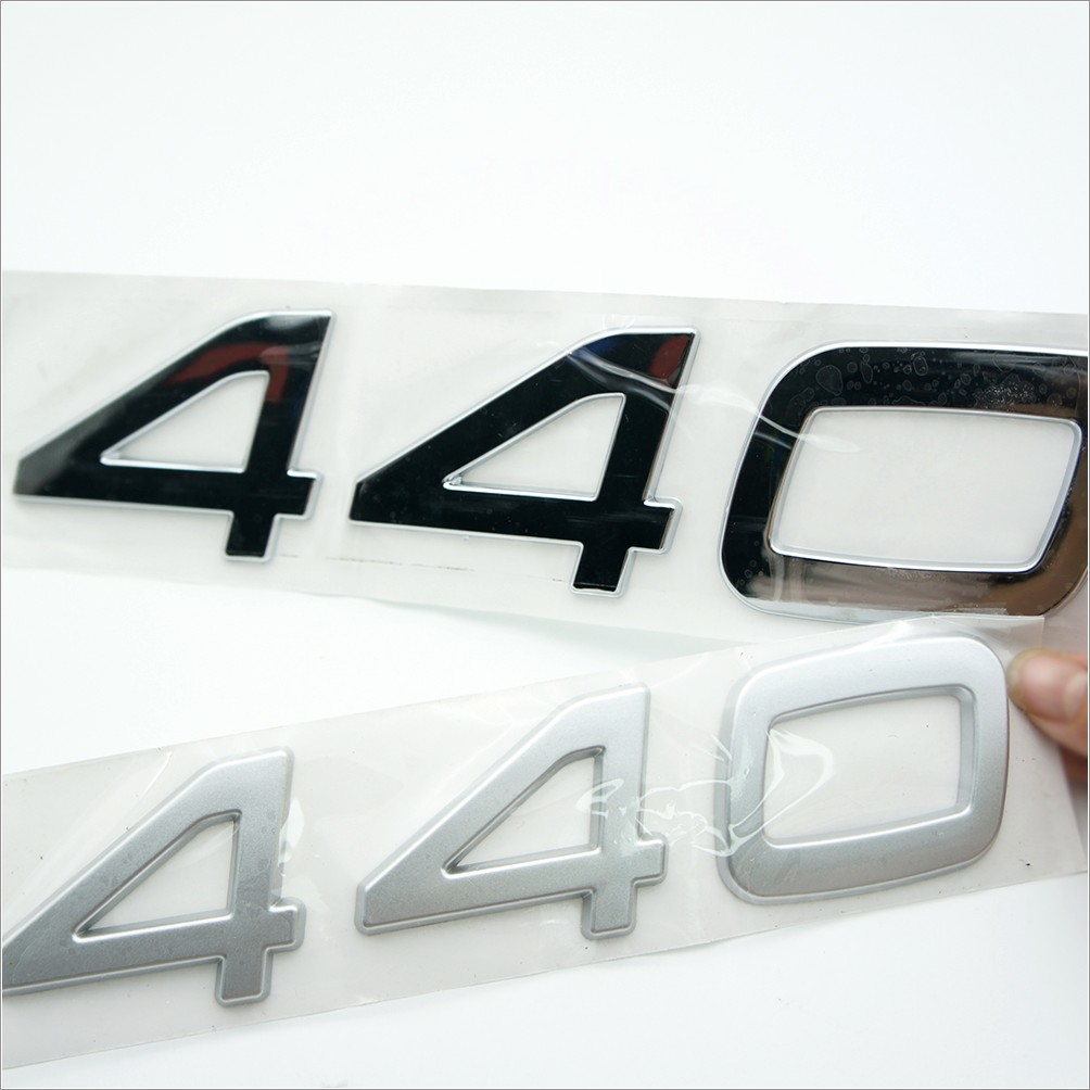 3d Chrome Letters For Cars
