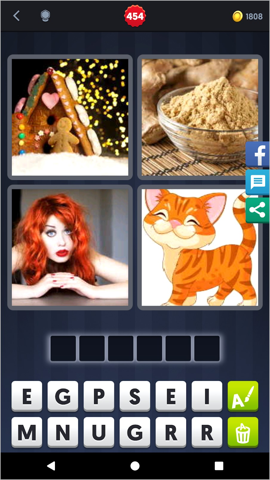 4 Pics 1 Word 6 Letters Cat