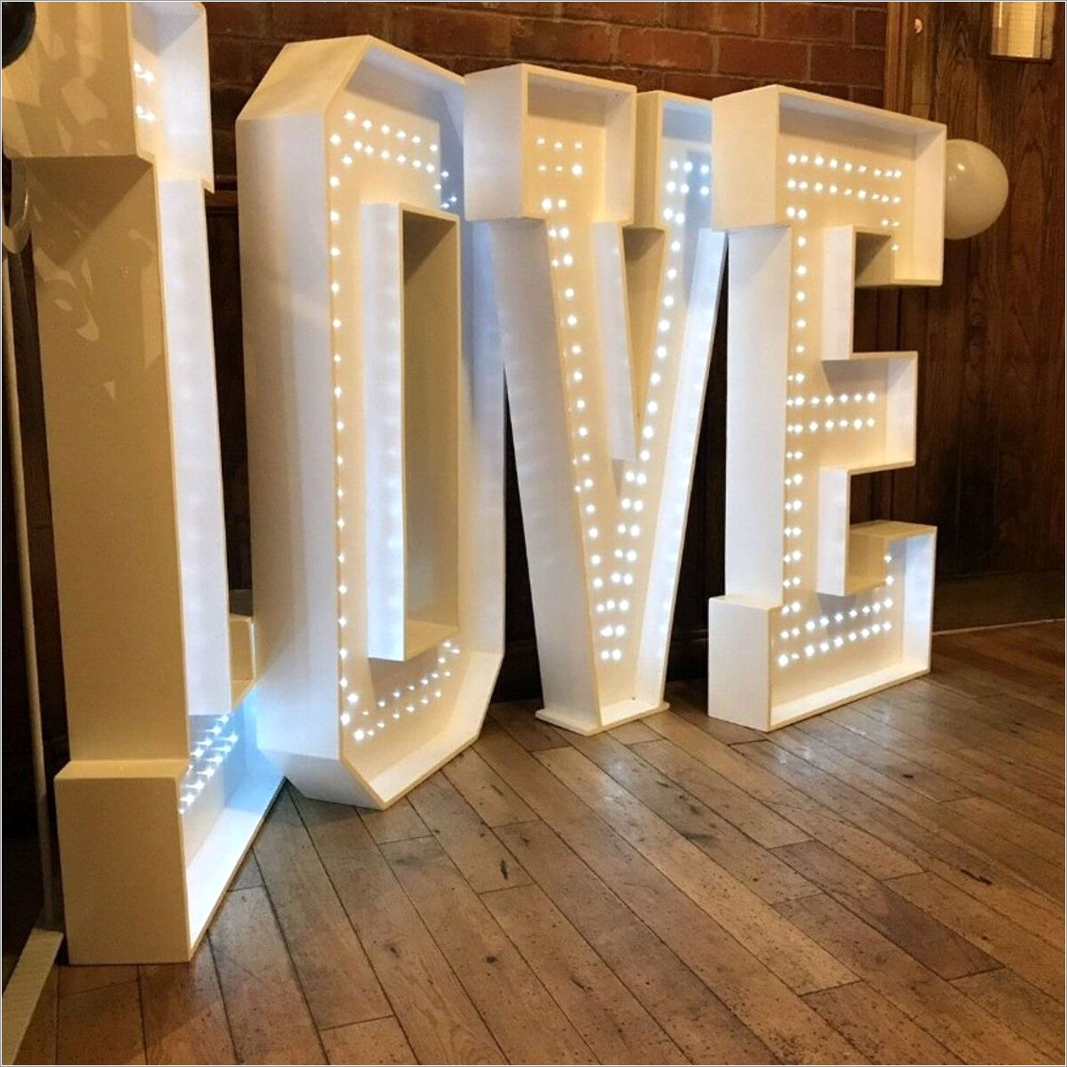 4ft Letters For Sale