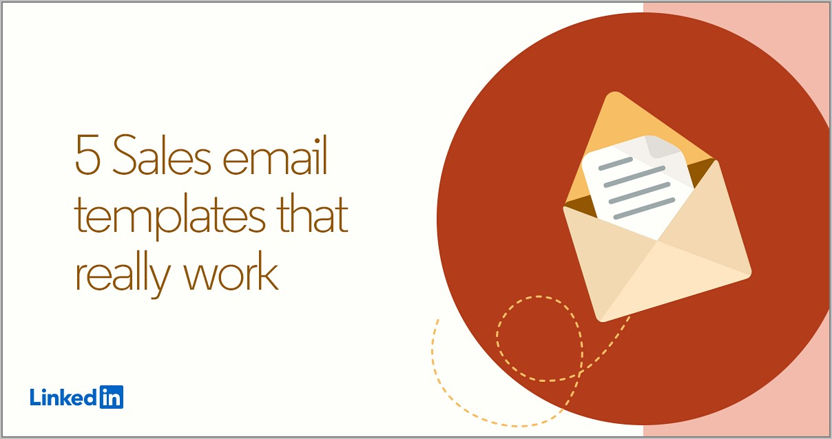 5 Sales Email Templates That Really Work