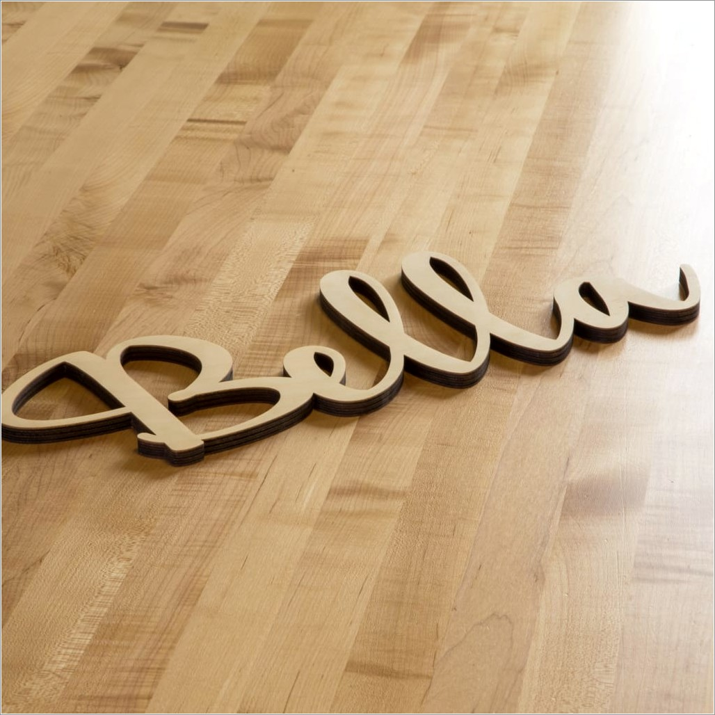 8 Inch Wooden Letters Wholesale