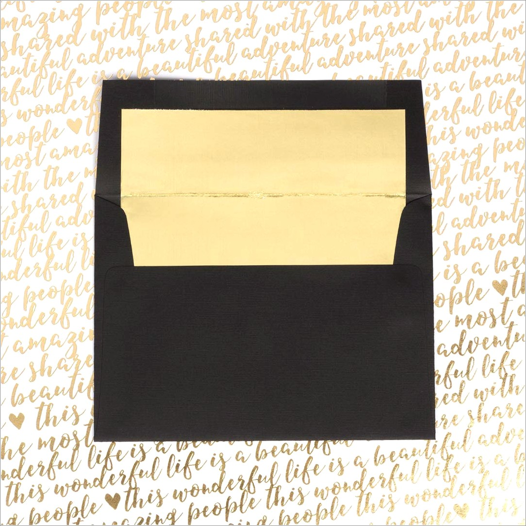 A7 Lined Invitation Envelopes
