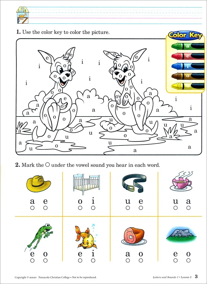Abeka Letters And Sounds 3