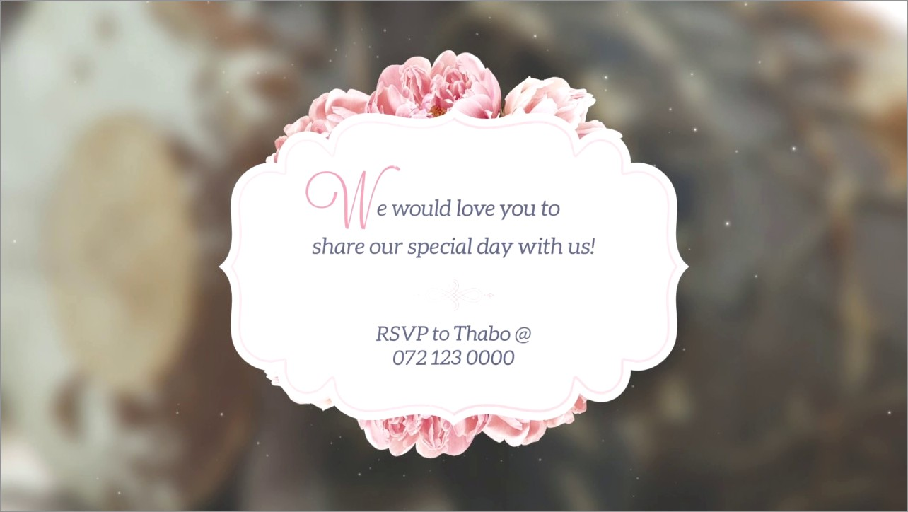 African Traditional Wedding Invitations Templates Free