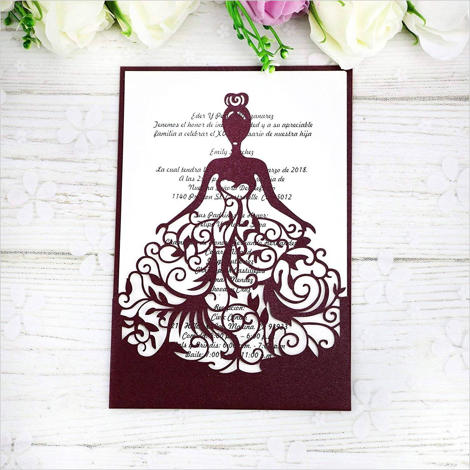 All In One Wedding Invitation Kits