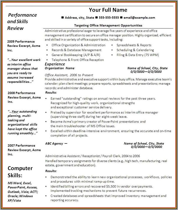 Are There Any Truly Free Resume Templates