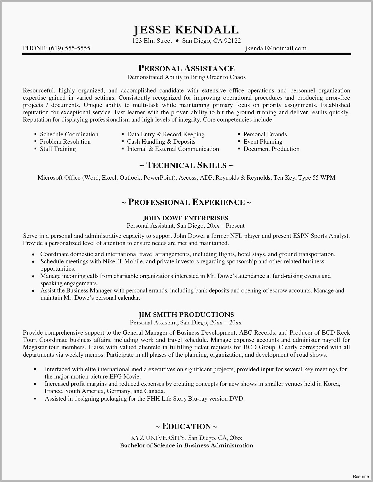 Best Rated Free Resume Templates