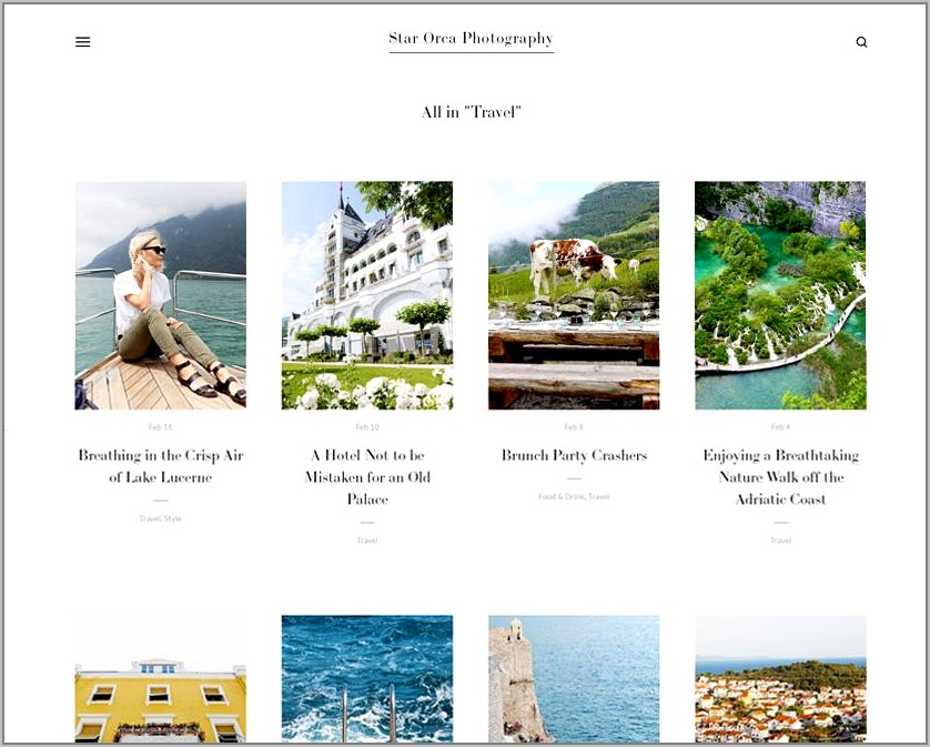 Best Squarespace Templates For Photographers