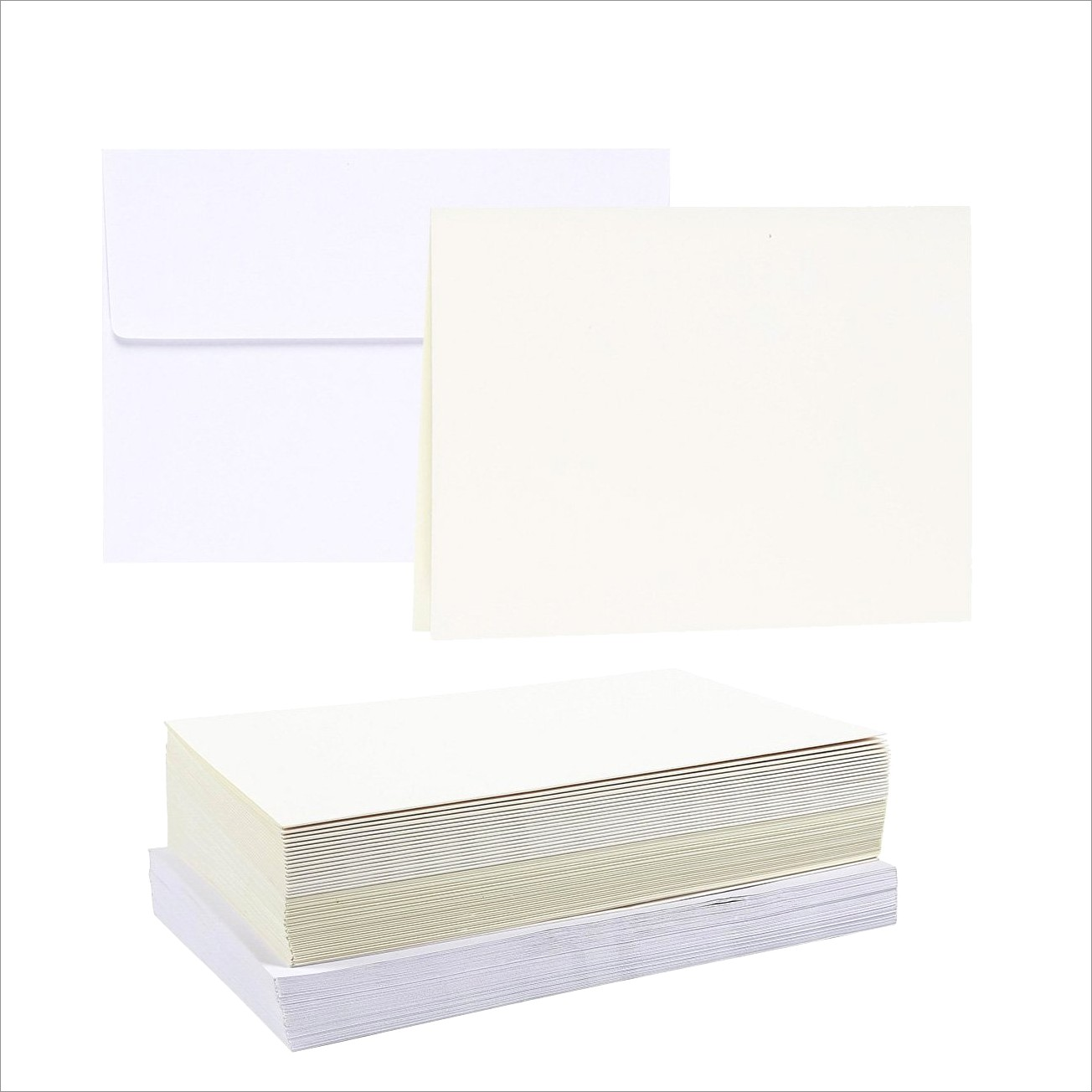 Blank 5×7 Invitations With Envelopes