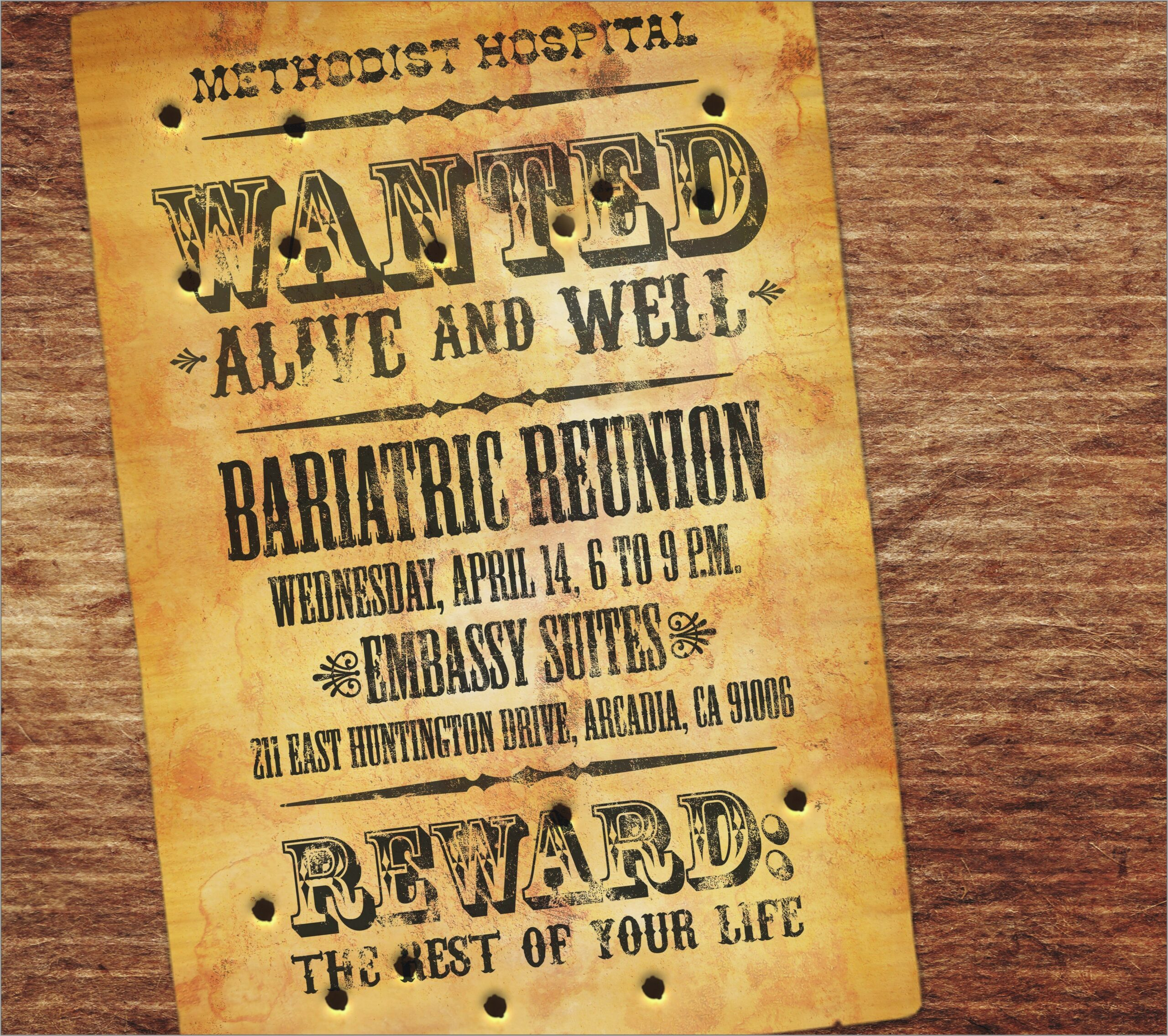 Blank Cowboy Invitation Template Scaled