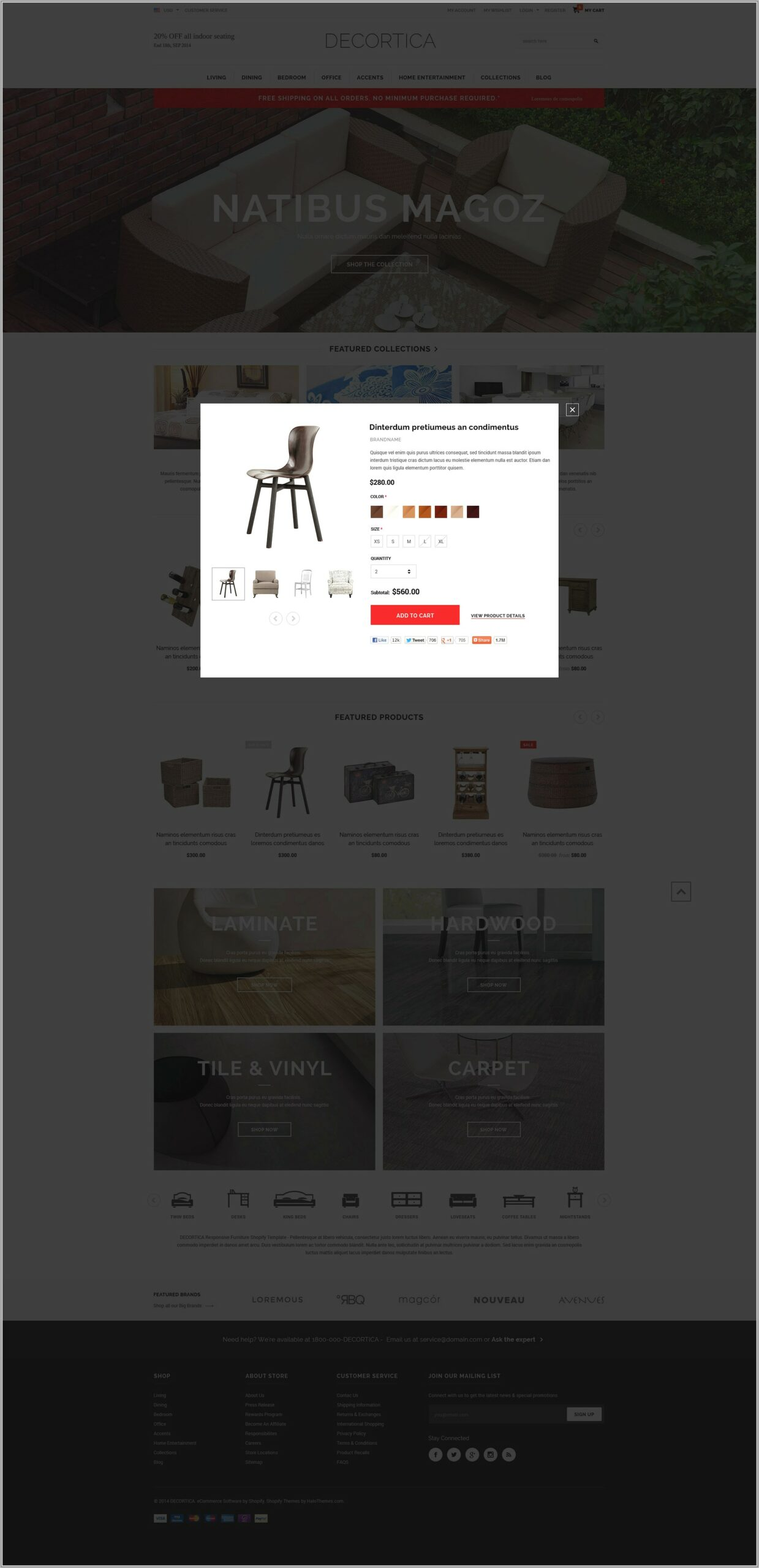 Bootstrap Responsive Ecommerce Templates