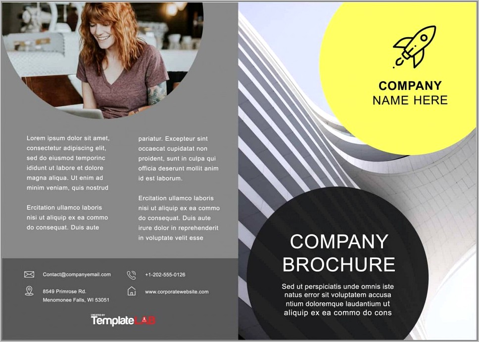 Brochure Template For Microsoft Word 2010