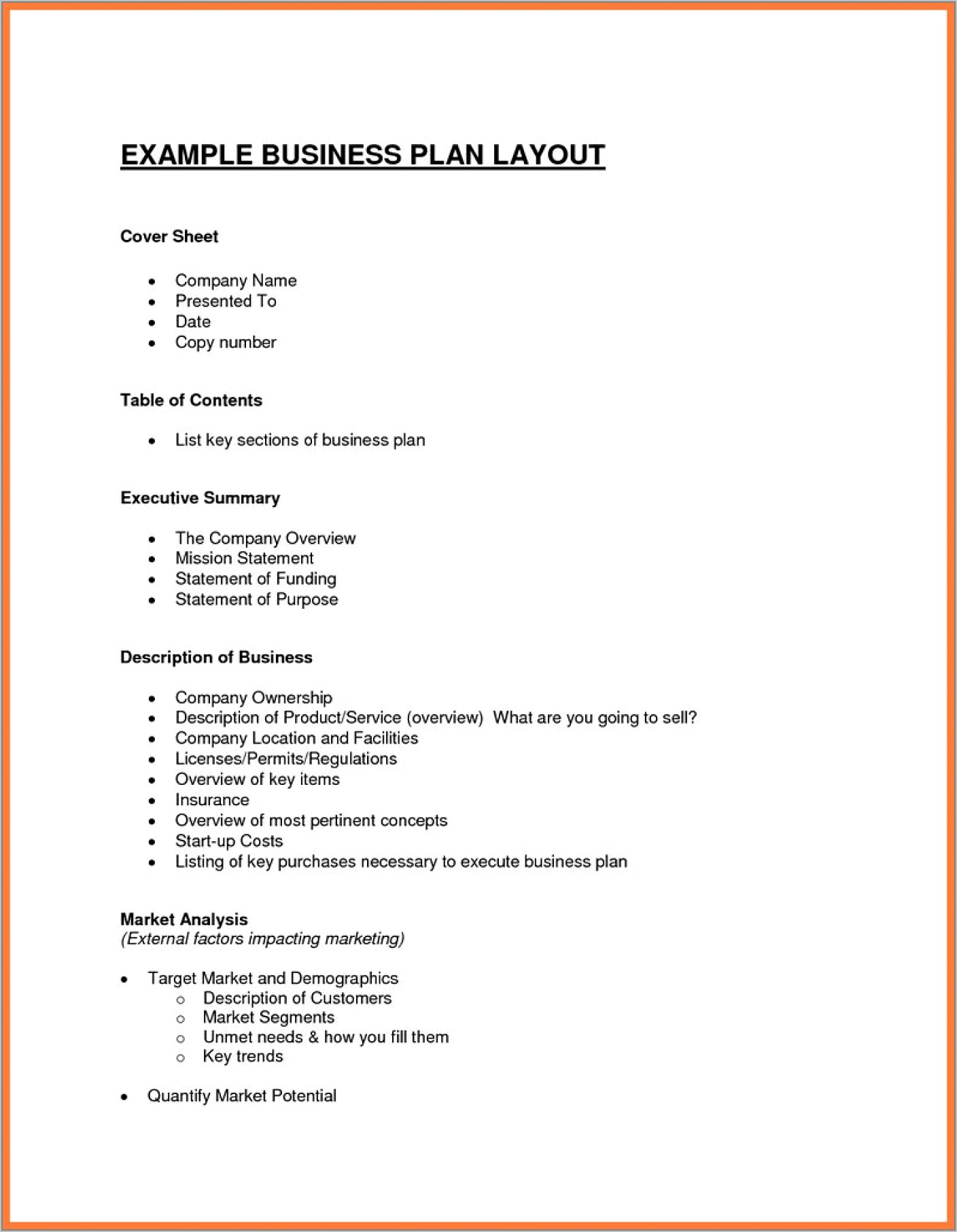 Business Plan Financial Projections Sample Pdf
