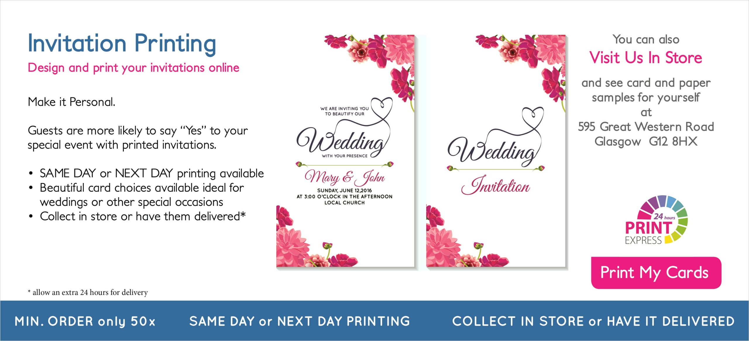 Can Staples Print Invitations