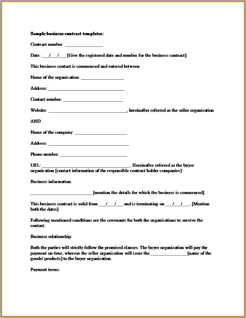 Car Sales And Purchase Agreement Form