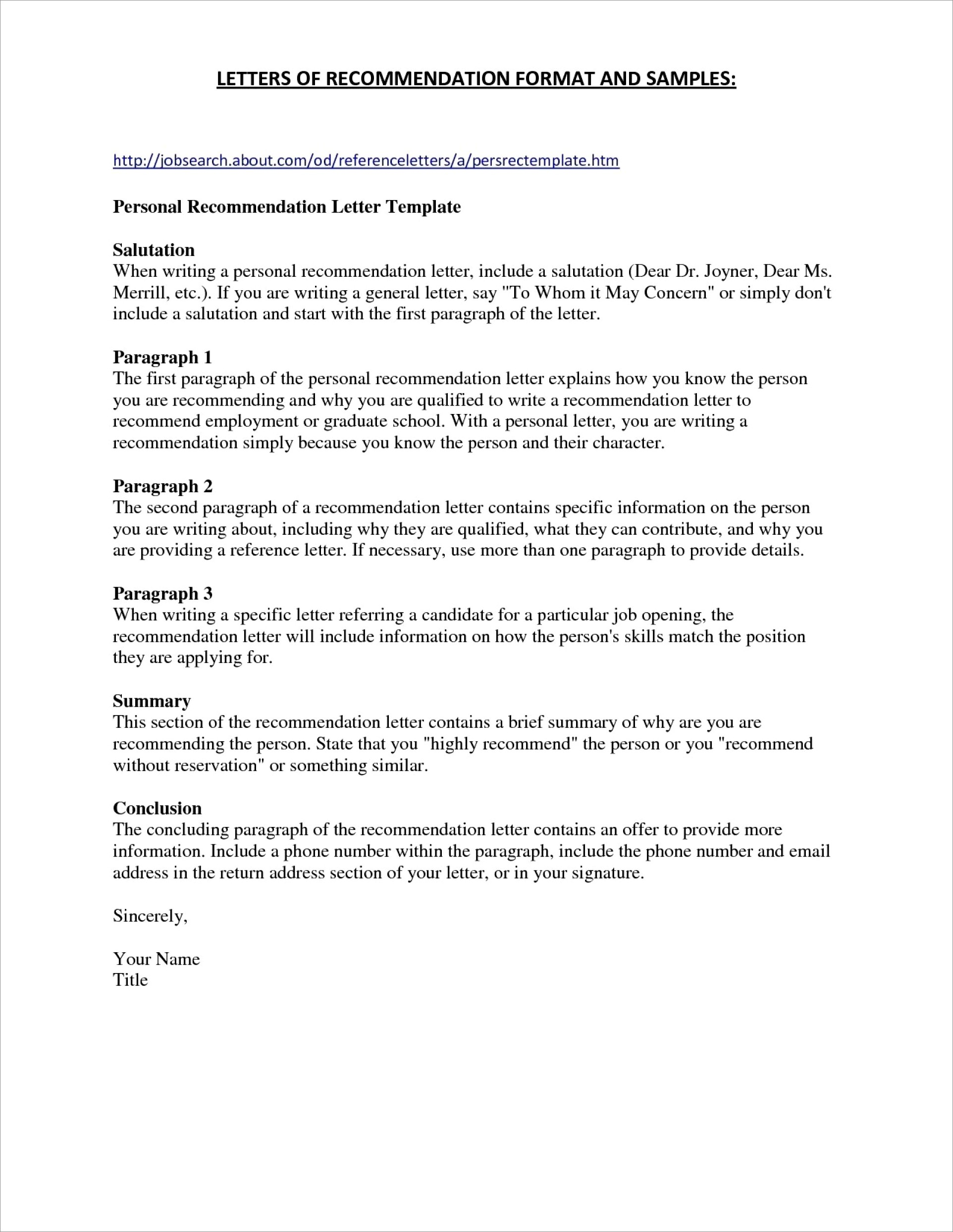 Character Reference Letter For Child Custody