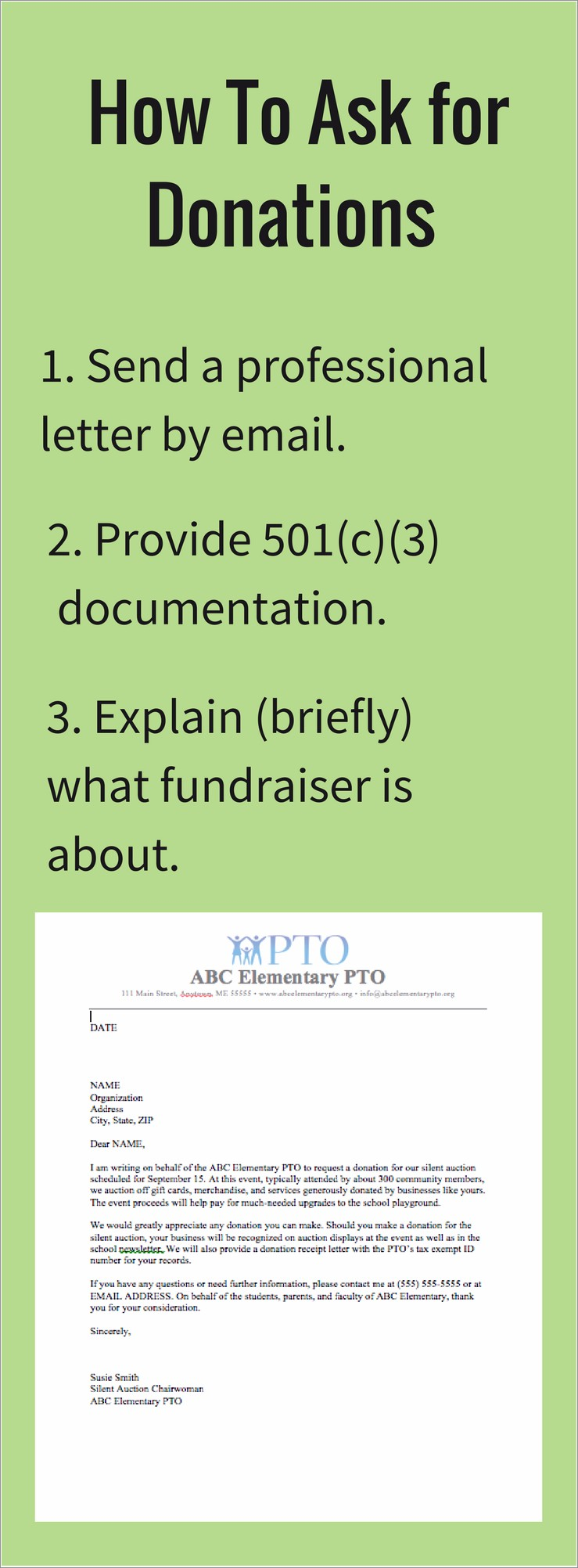 Charity Donation Letter Template Free