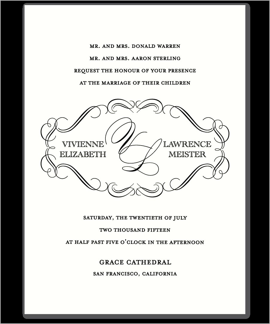 Christian Marriage Invitation Wordings