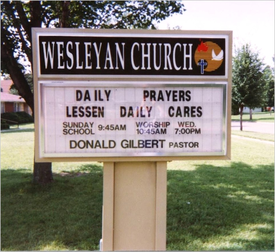 Church Signs With Changeable Letters