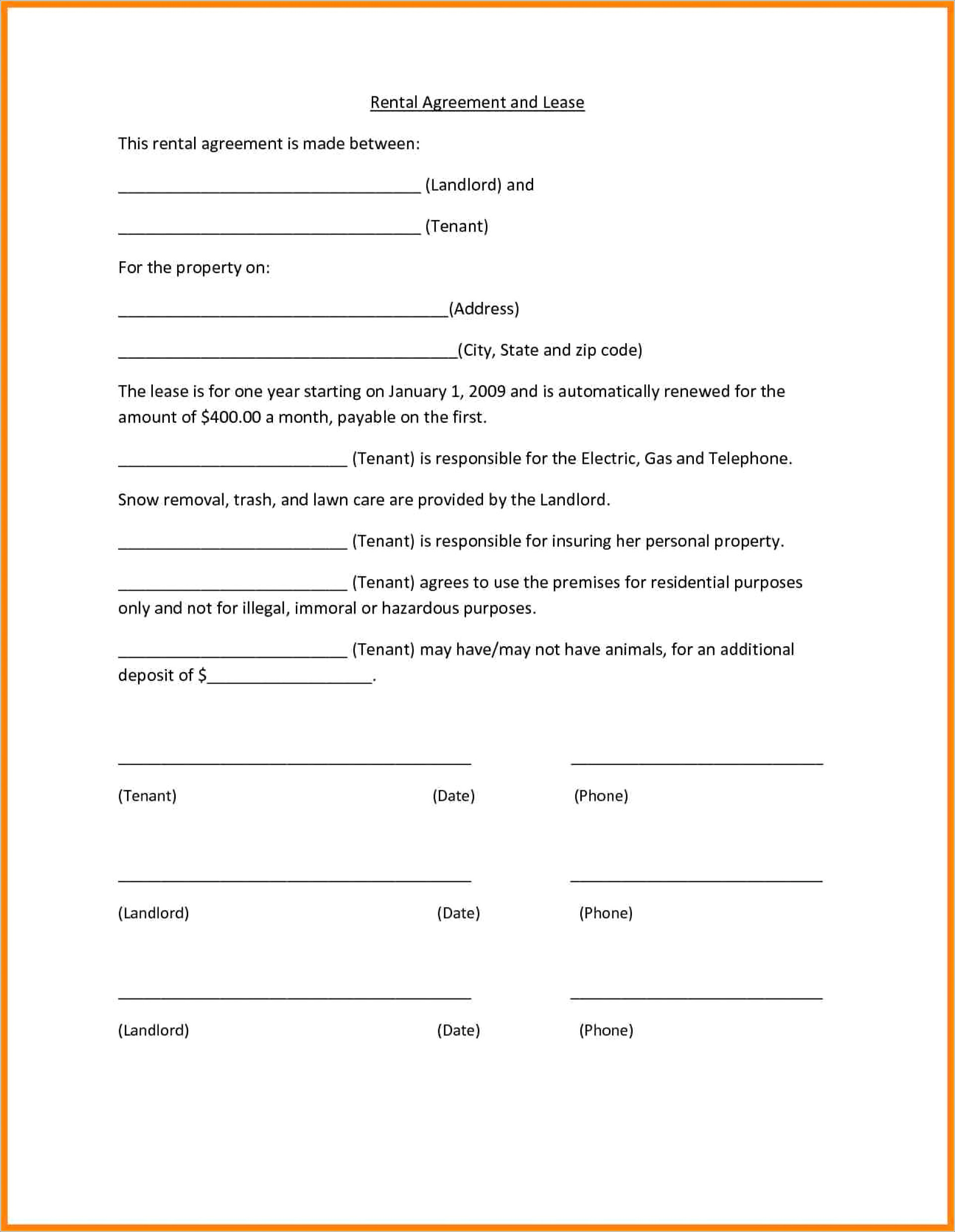 Commercial Lease Termination Letter To Landlord