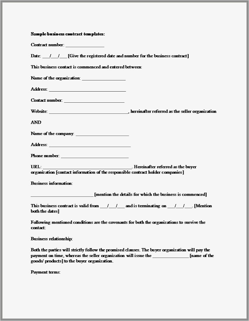 Common Stock Purchase Agreement Template