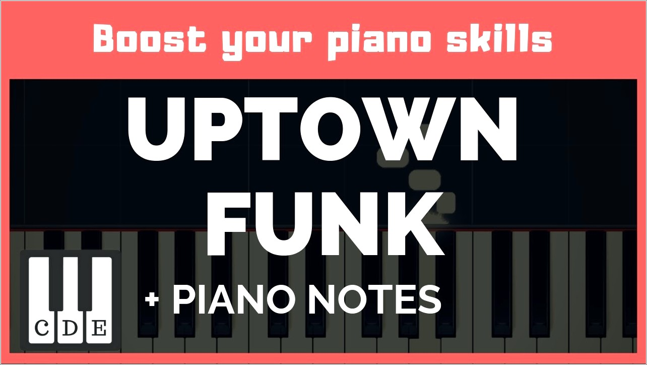 Country Roads Piano Letter Notes