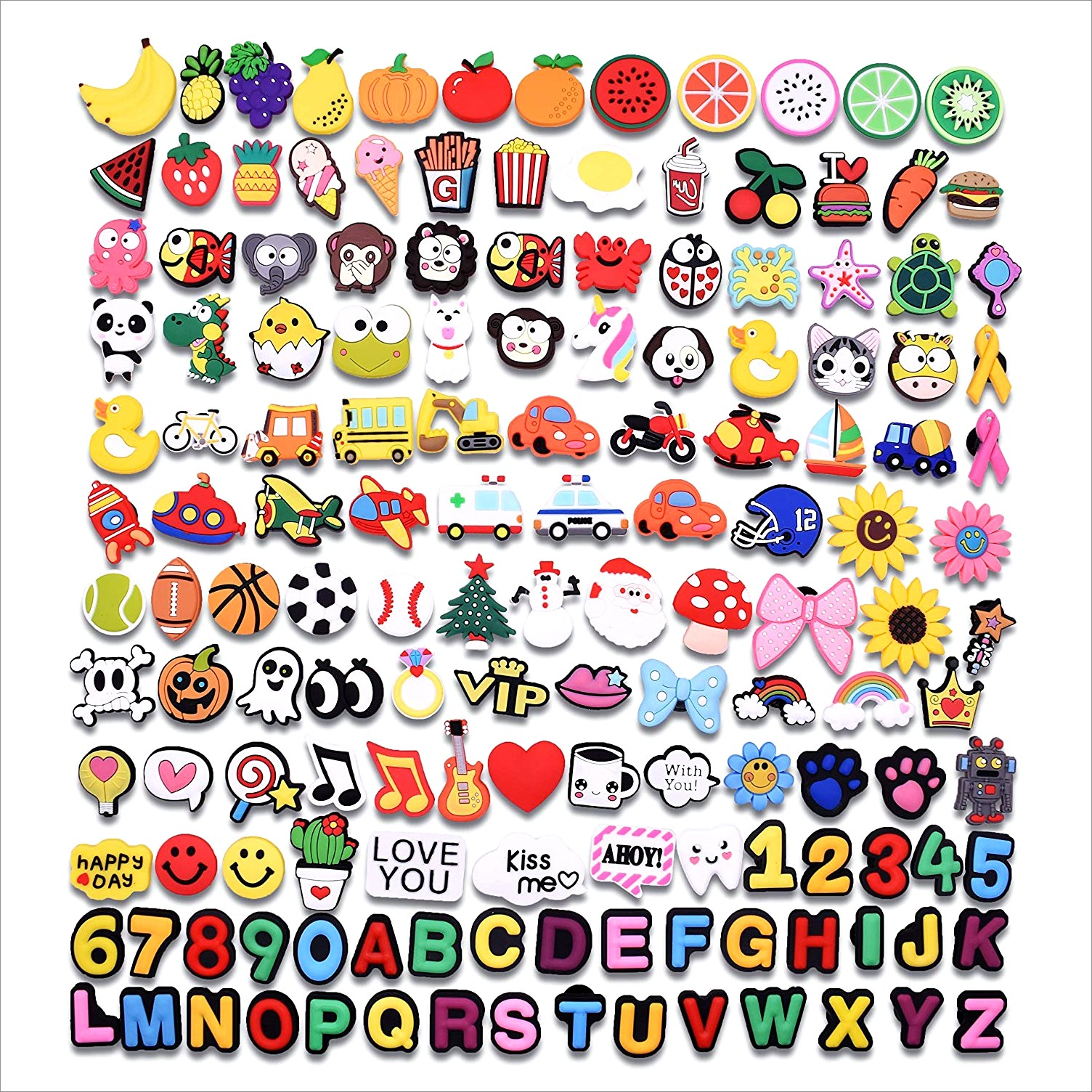 Croc Jibbitz Letters And Numbers