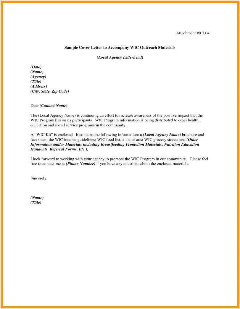 Dietary Aide Cover Letter