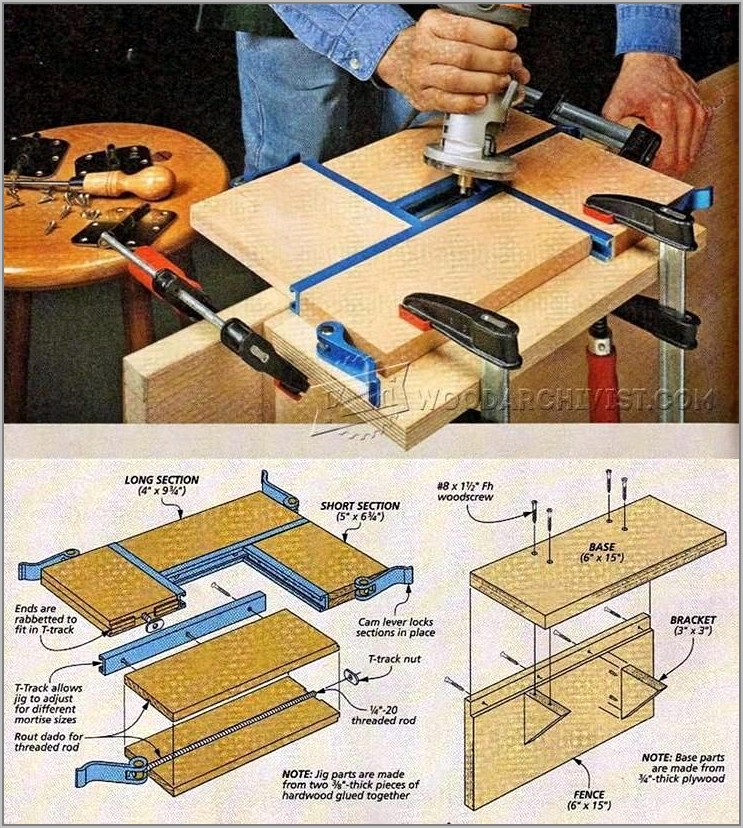 Diy Router Door Hinge Jig