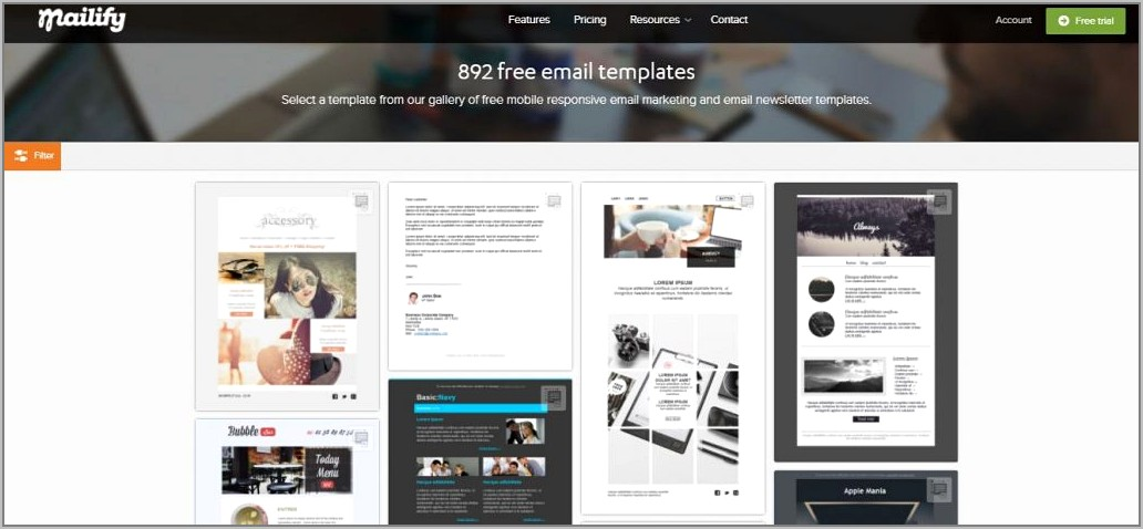 Email Marketing Newsletter Templates Free